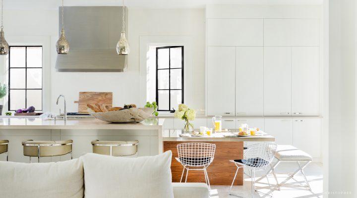 White Contemporary Modern Kitchen Joanna Goodman Interior Design